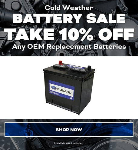 Cold Weather Battery Sale