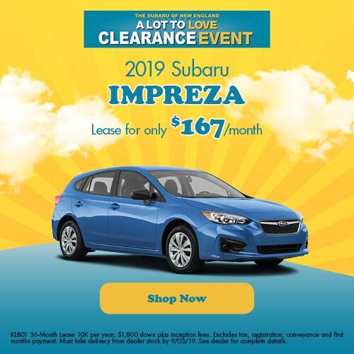 Subaru Lease Deals Hartford | Schaller Subaru