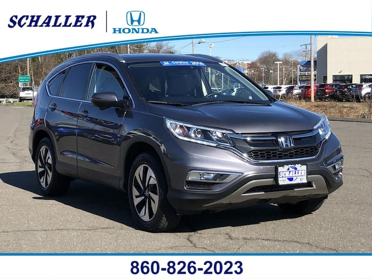 Certified Pre-Owned 2016 Honda CR-V Touring AWD AWD  Touring in Berlin CT