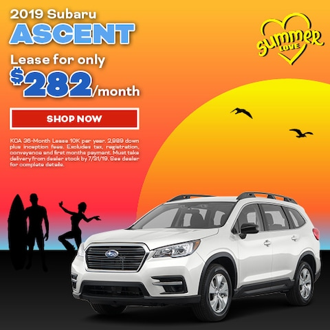 2019 Subaru Ascent July Offer