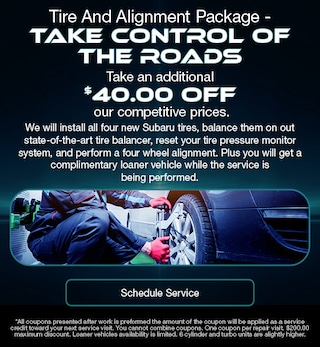 Tire And Alignment Package - Take Control Of The Roads