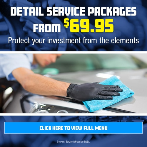 Detail Service Packages From $69.95