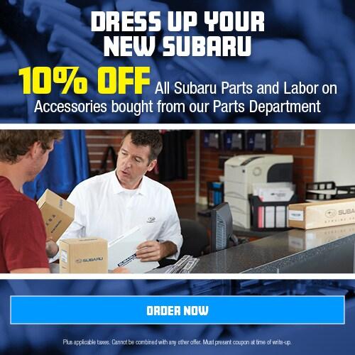 Dress Up Your New Subaru