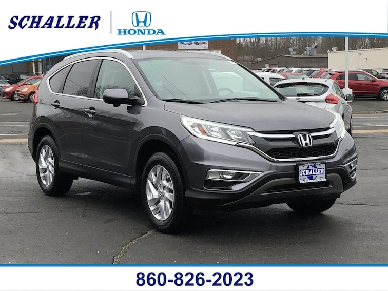 Certified Pre-Owned 2016 Honda CR-V EX-L AWD AWD  EX-L in Berlin CT