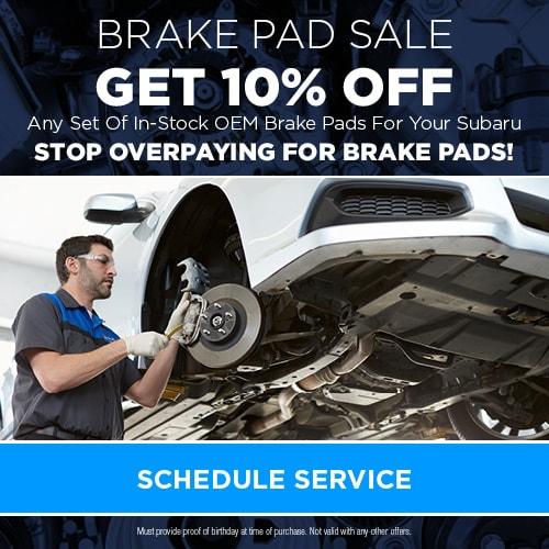 Brake Pad Sale