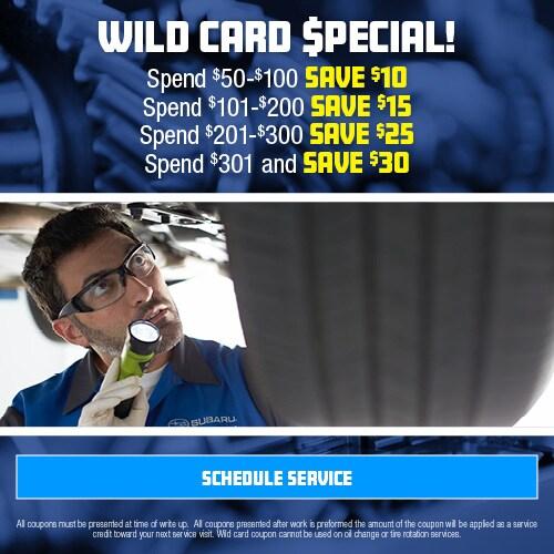 Wild Card $pecial!