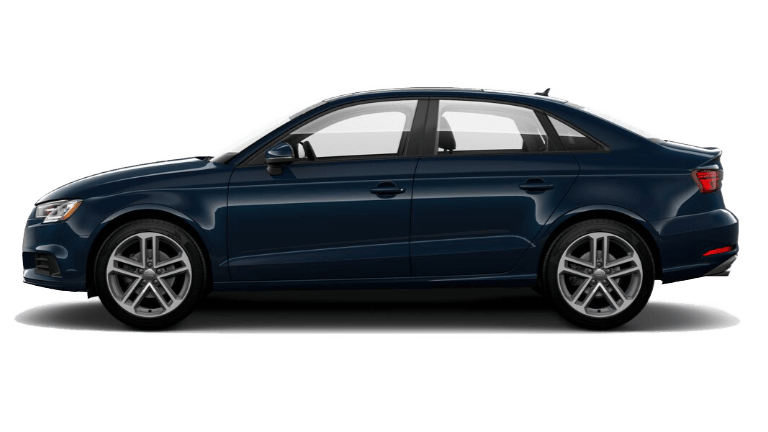 2020 Audi A3 side view