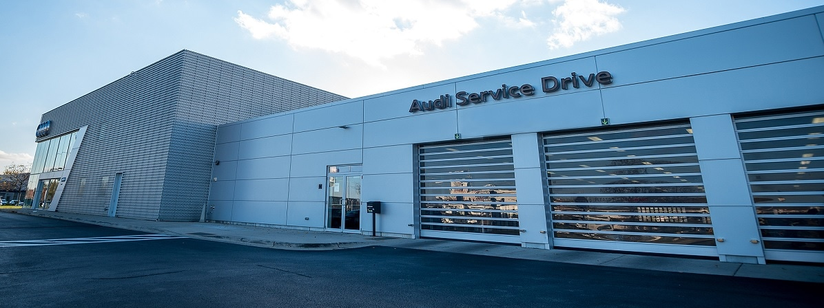 Audi Hoffman Estates service center exterior shot