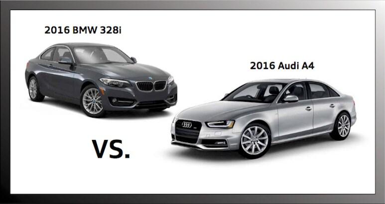 Audi A Versus BMW I In Hoffman Estates IL Audi - Bmw 328i vs audi a4