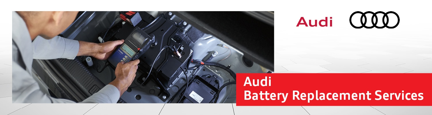 Audi Battery Replacement Services near Schaumburg, IL