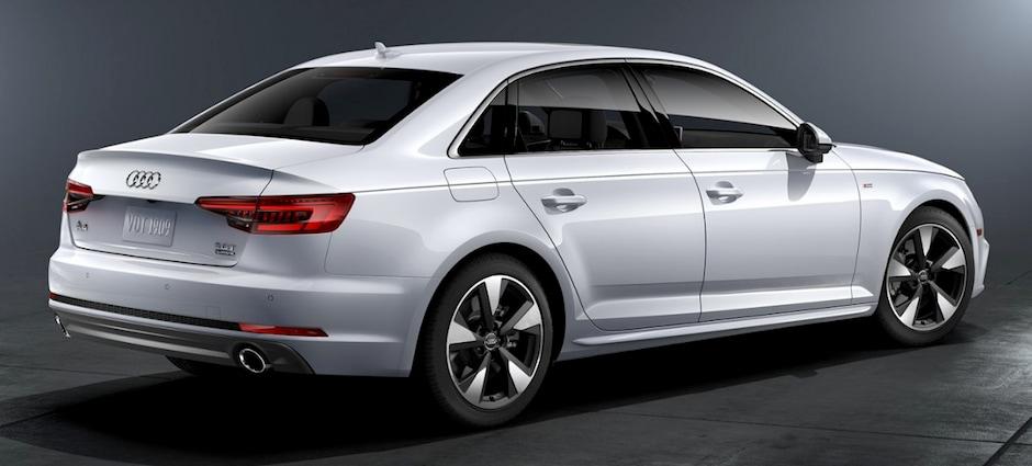 2017 Audi A4 Front Wheel Drive Vs All