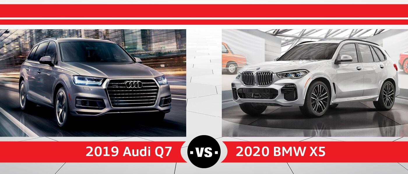 2020 Bmw X5 Vs 2019 Audi Q7 Near Schaumburg Il