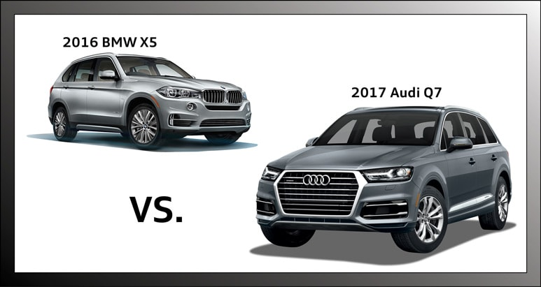 Audi Q Vs BMW X In Hoffman Estates IL Audi Hoffman - Audi q5 vs bmw x5