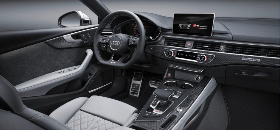 2018 Audi S5: Interior Design U0026 Technology