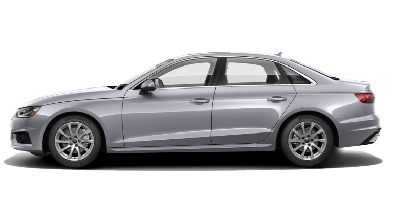 2020 Audi A4 side view