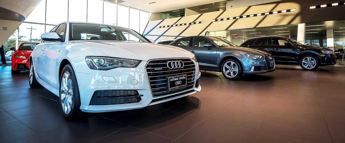 Audi Hoffman Estates showroom