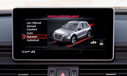 2020 Audi SQ5 infotainment system apps