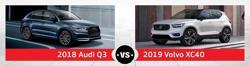 2019 Volvo Xc40 Vs 2018 Audi Q3 Near Schaumburg Il