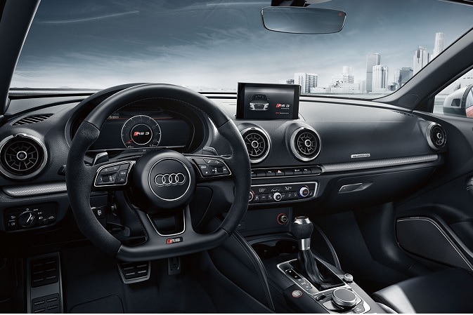 2020 Audi RS 3 infotainment system apps