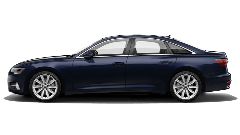 2020 Audi A6 side view