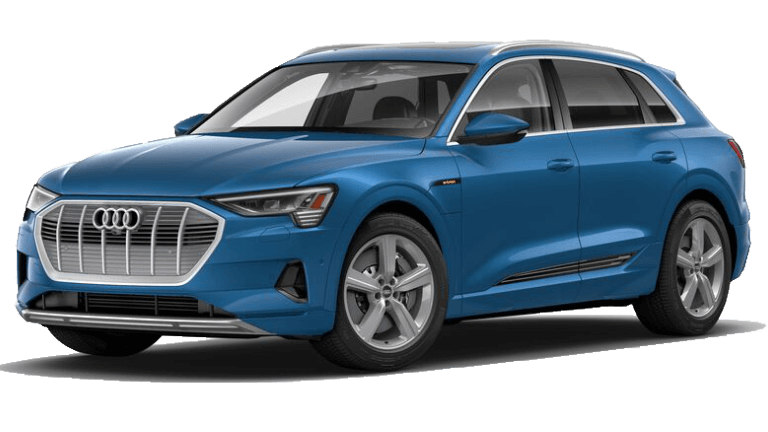2019 Audi e-tron Premium Plus - Antigua Blue Metallic