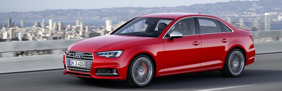 2018 Audi S4 Driving