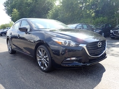 New 2018 Mazda Mazda3 Touring Sedan 3MZBN1V31JM239877 101422 in Schaumburg, IL
