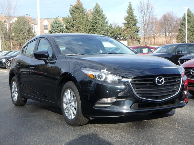 New 2018 Mazda Mazda3 Sport Hatchback in Schaumburg, IL