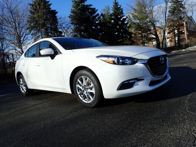 New 2018 Mazda Mazda3 Sport Sedan in Schaumburg, IL