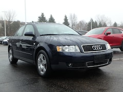 Used 2004 Audi A4 1.8T 1.8T Turbo Sedan WAUJC68E94A104322 for sale in Schaumburg, IL at Napleton's Schaumburg Mazda
