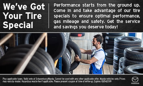 We've Got Your Tire Special
