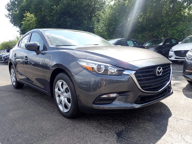 New 2018 Mazda Mazda3 Sport Sedan in Schaumburg, IL