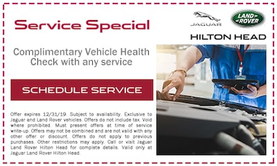 Complimentary Vehicle Health Check with any service