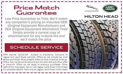 Low Price Guarantee on Tires