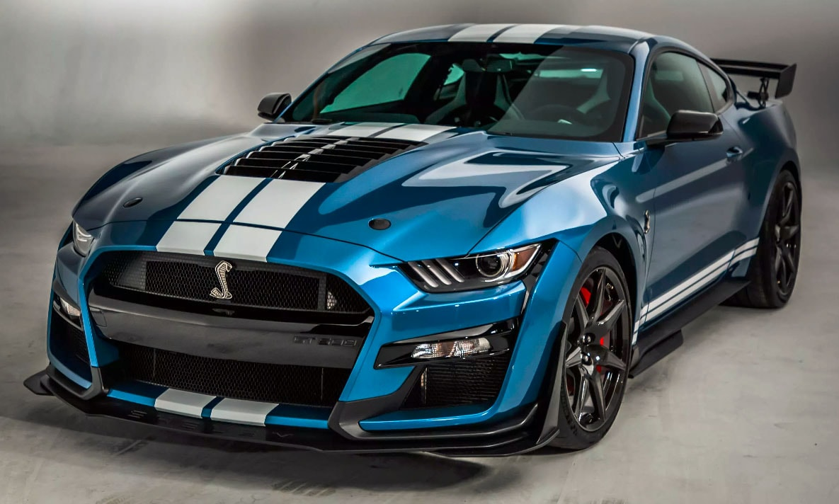 2020 Mustang Shelby Gt500 Schimmer Ford