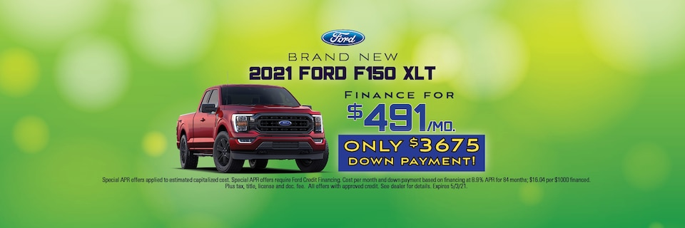 Brand New 2021 Ford F-150 XLT