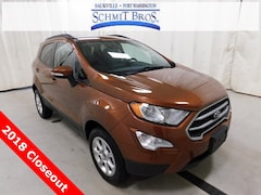 New 2018 Ford EcoSport SE SUV MAJ6P1UL5JC232017 for sale in Saukville, WI at Schmit Bros. Auto