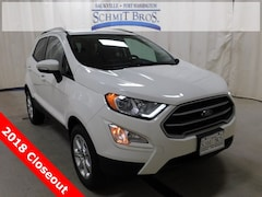 New 2018 Ford EcoSport SE SUV MAJ6P1UL0JC249663 for sale in Saukville, WI at Schmit Bros. Auto