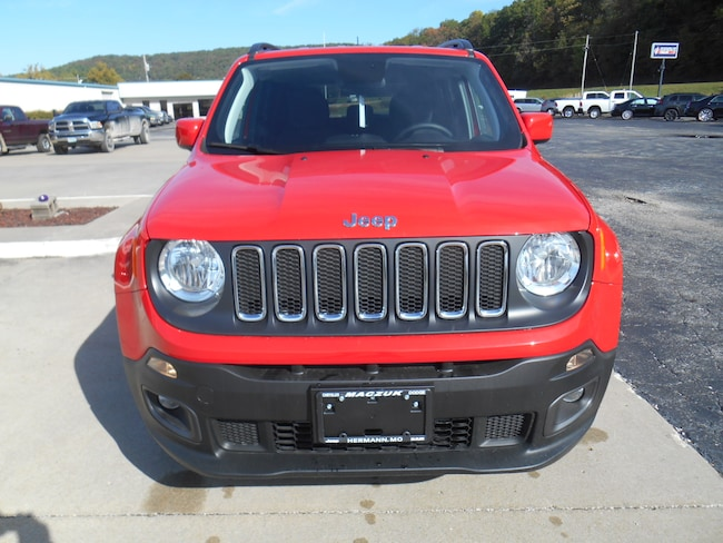 New 2018 Jeep Renegade Latitude 4x4 For Sale Hermann Mo