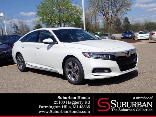 New 2018 Honda Accord EX-L 2.0T Sedan in Farmington Hills, MI