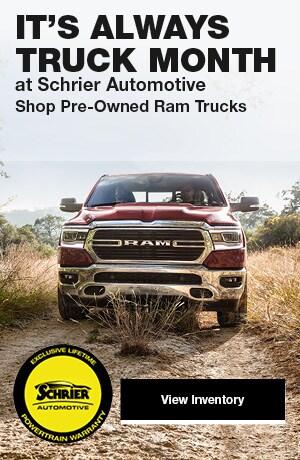 Shop Pre-Owned Ram Trucks