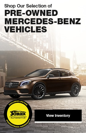 Shop Our Selection of Pre-Owned Mercedes-Benz Vehicles