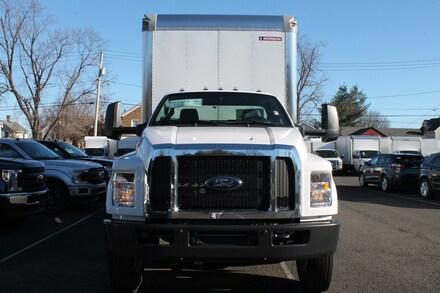 2019 Ford F750 Super Duty Diesel 25,999 GVW Box Dry Freight
