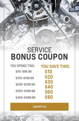 Service Bonus Coupon
