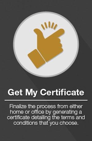 Get Certificate