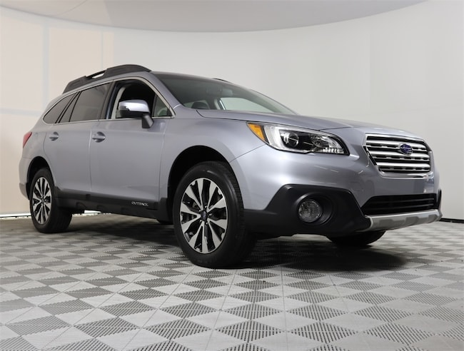 Certified 2017 Subaru Outback 2.5i Limited with SUV in Delray Beach