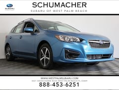 New 2019 Subaru Impreza 2.0i Premium 5-door in West Palm Beach, FL at Schumacher Subaru