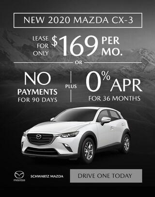 2020 Mazda CX-3 $169/mo