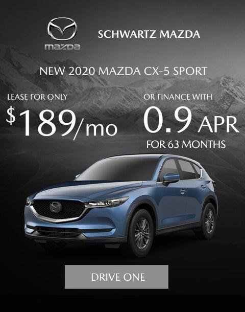 Mazda CX-5 Lease Special