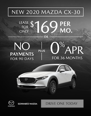 2020 Mazda CX-30 $169/mo